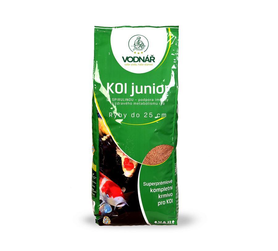 Vodnář krmivo KOI JUNIOR 4kg